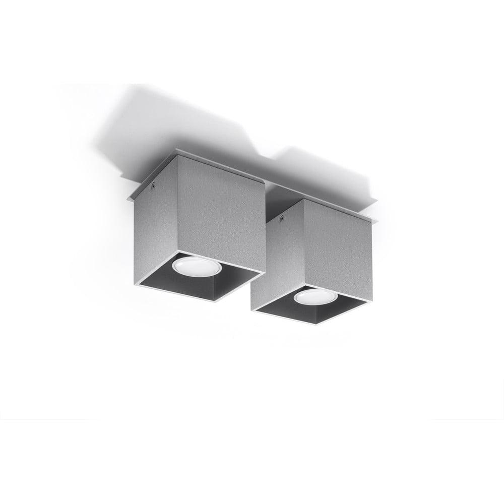 Šedé stropní světlo Nice Lamps Geo