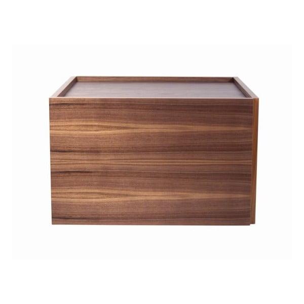 Variabilní konferenční stolek v dekoru ořechového dřeva TemaHome Doubl