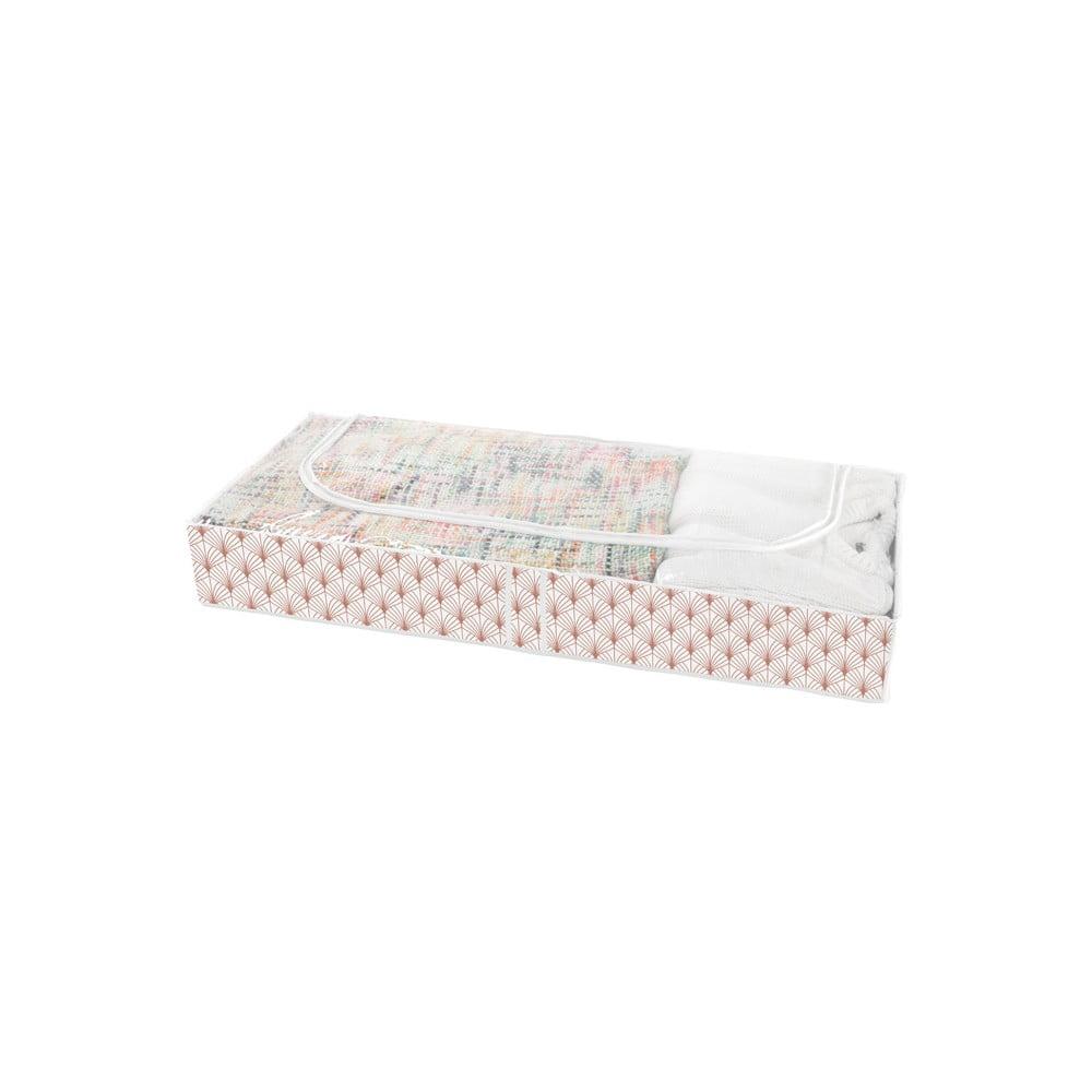 Úložný box pod postel Compactor Blush Range, 107 x 46 cm