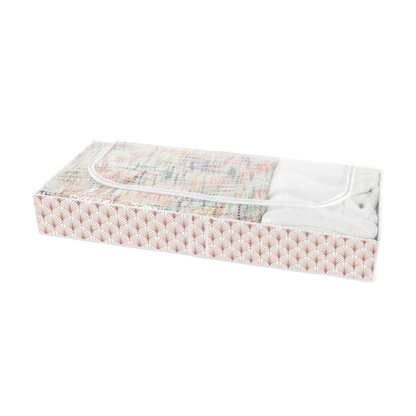 Úložný box pod posteľ Compactor Blush Range, 107 x 46 cm