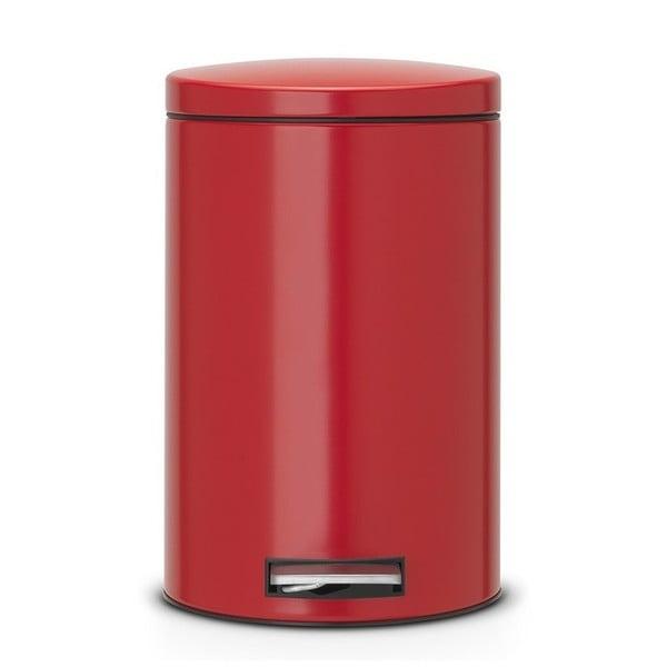 Pedálový koš Pedal Bin, 12 l, vášnivá červená