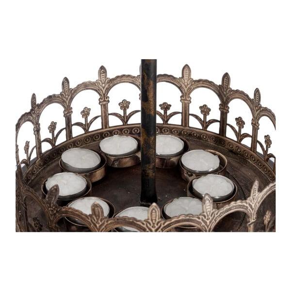 Svícen Carousel, 26x26x53 cm