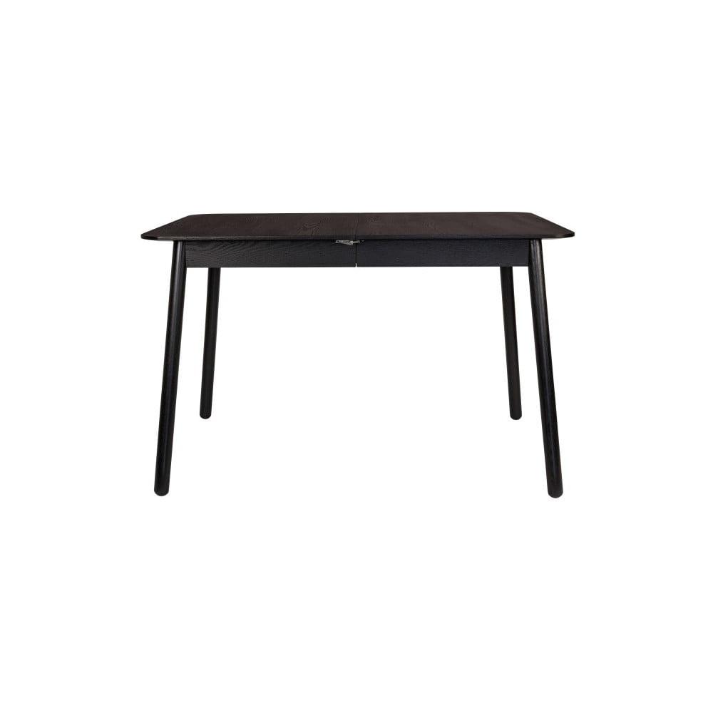 Černý rozkládací jídelní stůl Zuiver Glimps, 120 x 80 cm