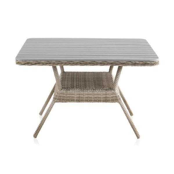 Alessia kerti asztal, 120x120 cm - Geese