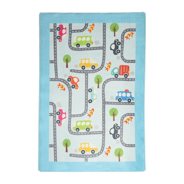Detský koberec Baby Cars, 140 × 190 cm