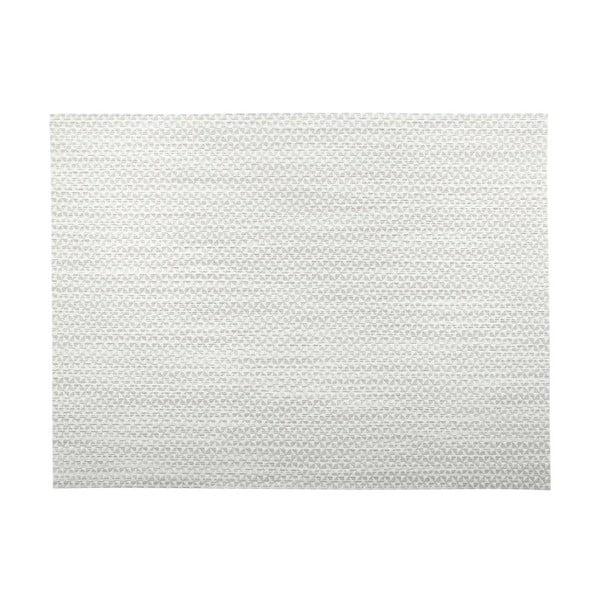 Jasnoszara mata stołowa Tiseco Home Studio Melange Triangle, 30x45 cm