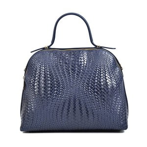 Modrá kožená kabelka Isabella Rhea Julia