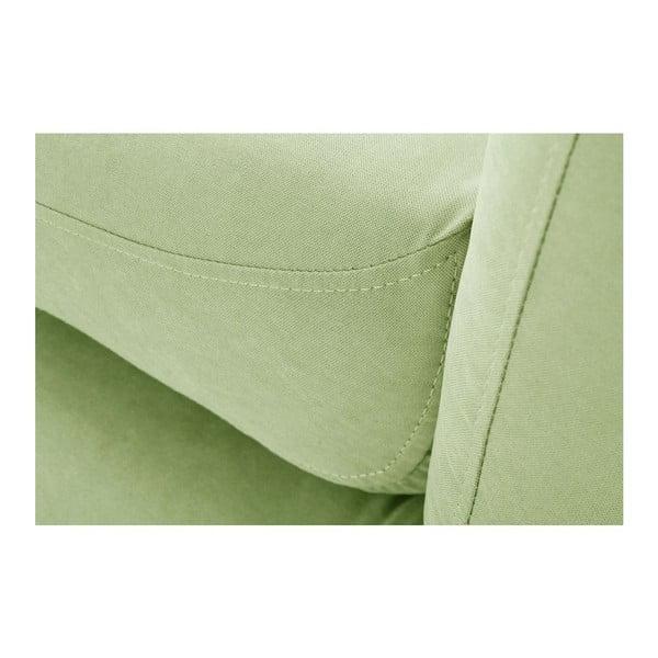 Canapea cu șezlong pe partea dreaptă Constellation, verde fistic