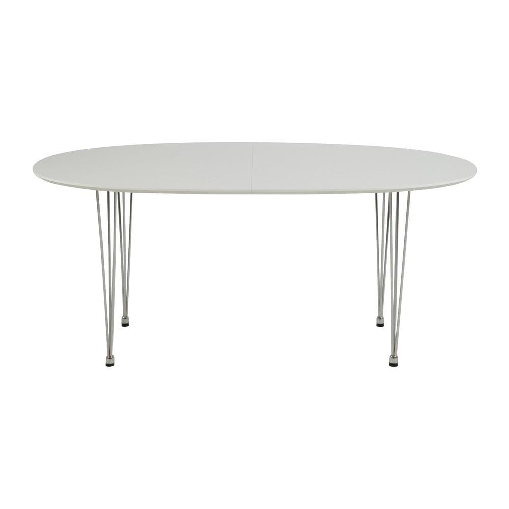Bílý jídelní stůl Actona Carina