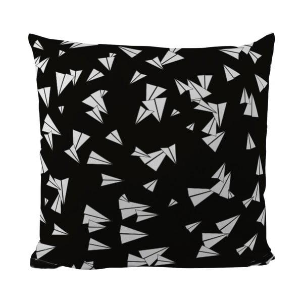 Polštářek Black Shake Let's Fly, 50x50 cm