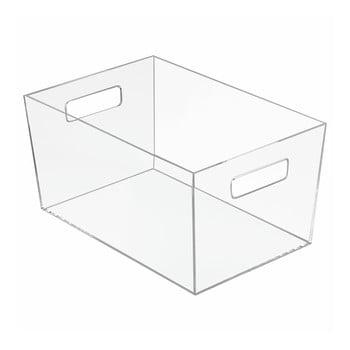 Cutie transparentă pentru depozitare iDesign Clarity, 30,6 x 20,7 cm de la iDesign