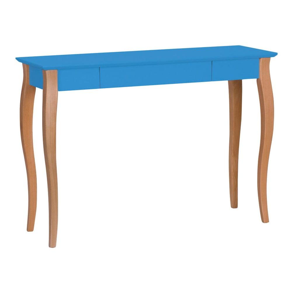 Modrý psací stůl Ragaba Lillo, šířka 105 cm
