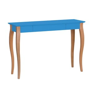 Modrý psací stůl Ragaba Lillo, šířka105cm