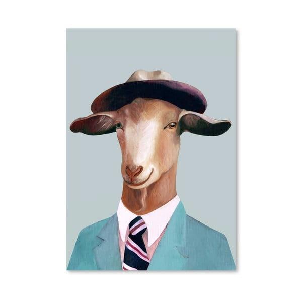 Plakát Goat, 30x42 cm
