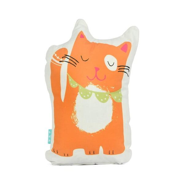 Bavlněný polštářek Moshi Moshi Cat&Mouse, 40x30cm