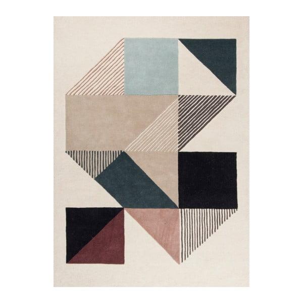 Ručně vyšívaný koberec Linie Design Mikill Mixed, 170x240cm