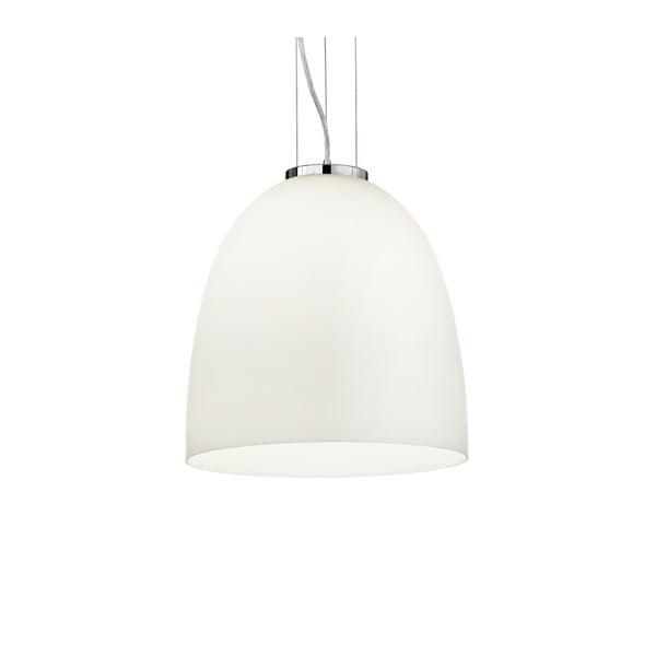 Bílé závěsné svítidlo Evergreen Lights Nezo