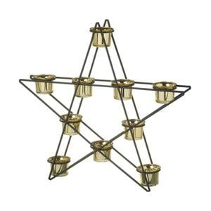 Svícen pro 10 svíček Parlane Star