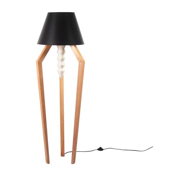Stojací lampa Tornado Black