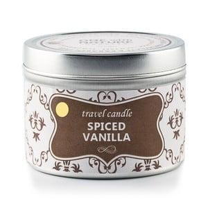 Vonná svíčka v plechovce Spiced Vanilla, 25 hodin hoření