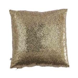 Polštář zlaté barvy s flitry Bella Maison Diamond, 50 x 50 cm