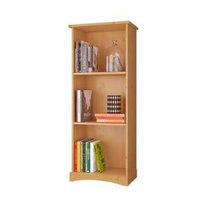 Bibliotecă din lemn masiv de pin Støraa Yvonne, înălțime 140 cm