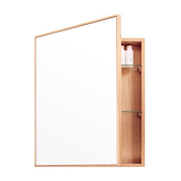 Zrcadlo s úložným prostorem Mezza Wireworks, 45x55 cm