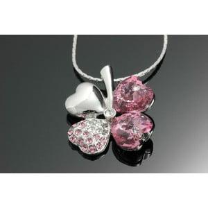 Náhrdelník Swarovski Elements Clove Pink