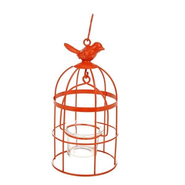 Stojan na čajovou svíčku Bird Orange