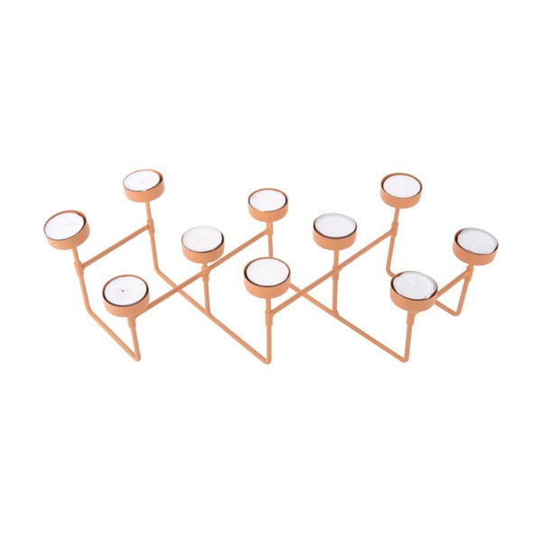 Karmelowy świecznik na tealighty PT LIVING Harmonica