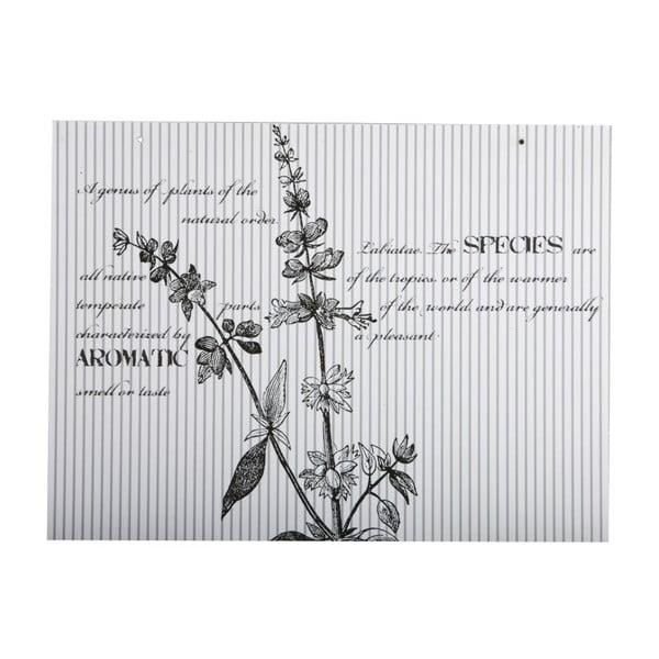 Cedule Flores, 30x40 cm