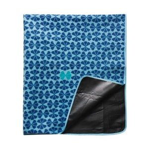 Pikniková deka, modrá