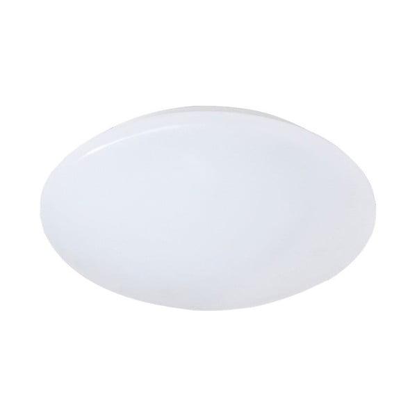 Biała lampa sufitowa LED Trio Putz II, średnica 27 cm