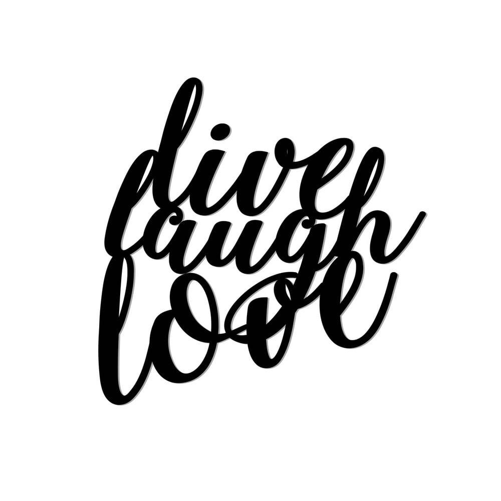 live laugh love 3d - photo #17