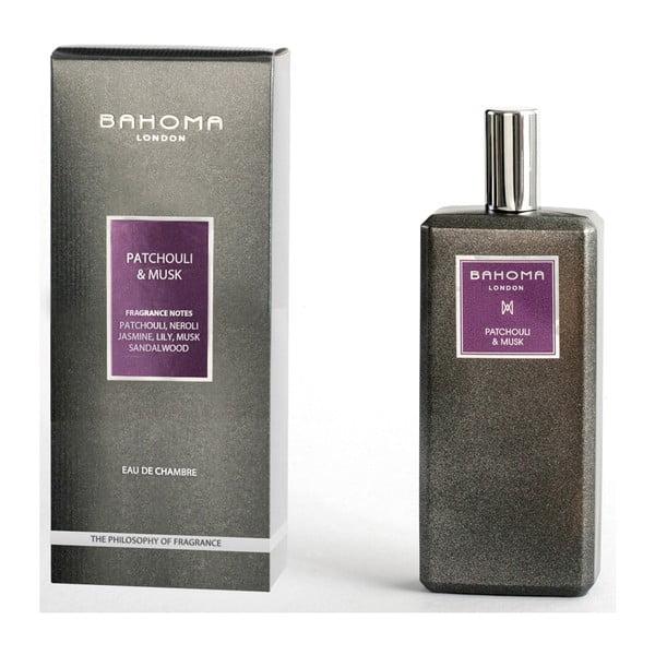 Interiérový sprej s vůní pačuli a pižma Bahoma London, 100 ml
