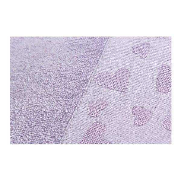 Sada 2 osušek Kalp Purple, 50x90 cm