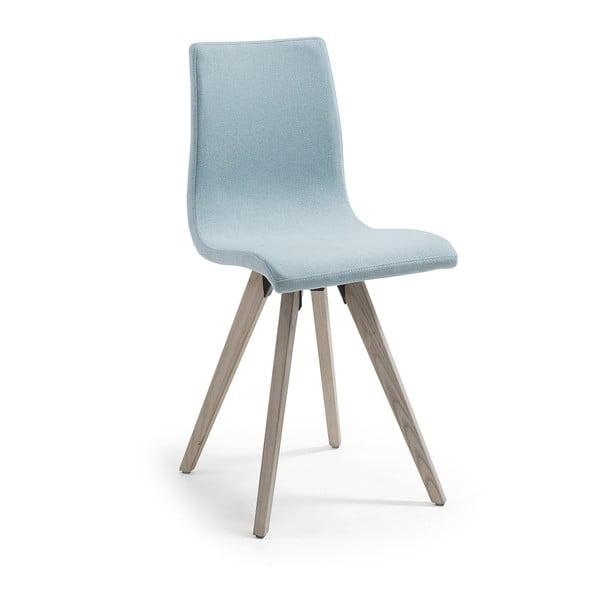 Svetlomodrá jedálenská stolička La Forma Una