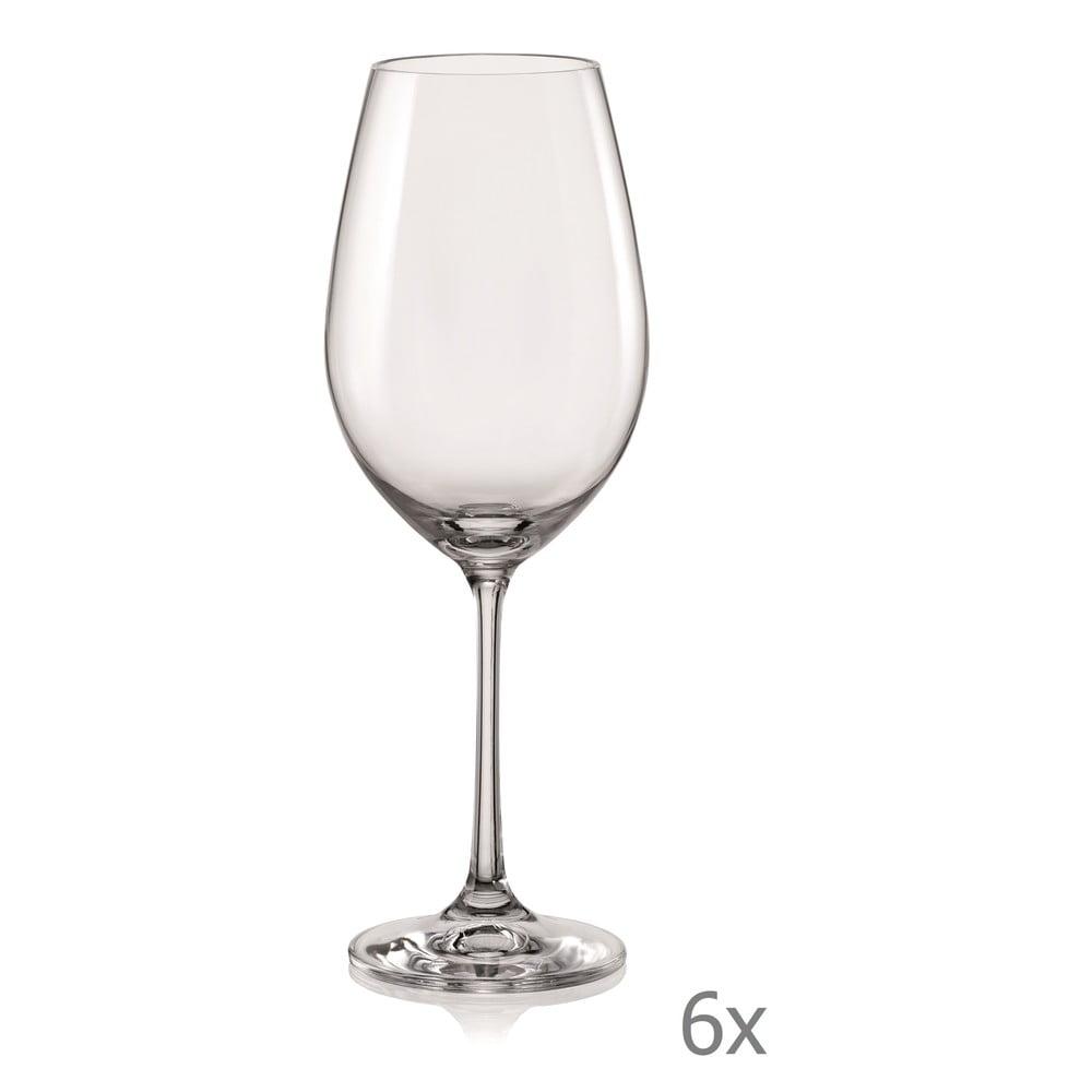 Sada 6 sklenic na víno Crystalex Viola, 350 ml