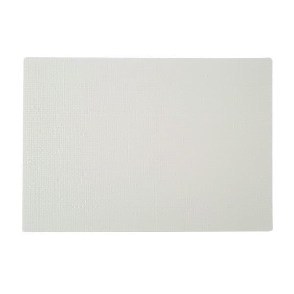 Biała mata stołowa Saleen Coolorista, 45x32,5cm