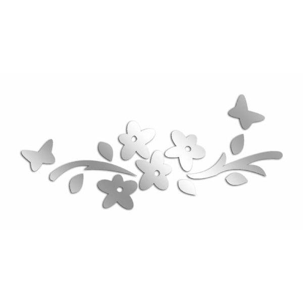Dekorativní zrcadlo Flower Butterflies