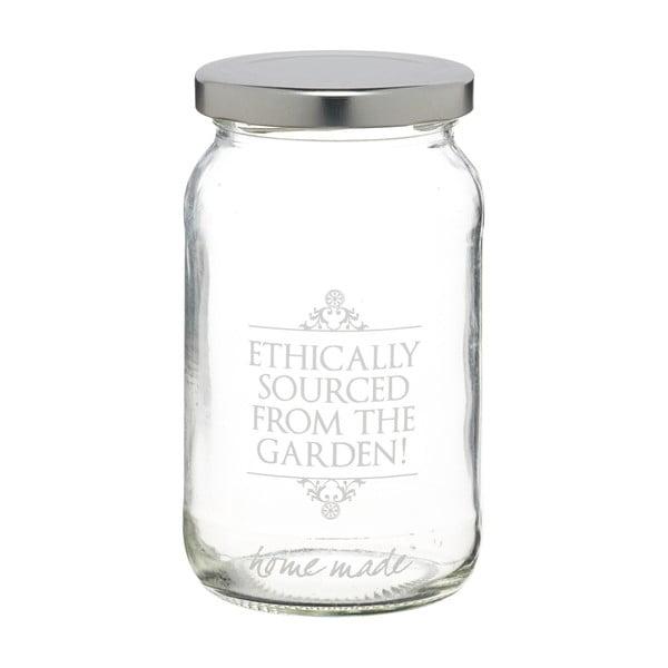 Zavařovací sklenice KitchenCraft Garden, 454 ml