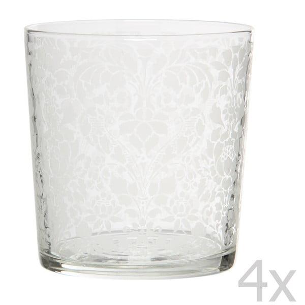 Sada 4 sklenic Tapisserie, 370 ml