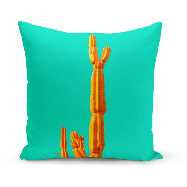 Polštář Kate Louise Cactus Neon, 43 x 43 cm