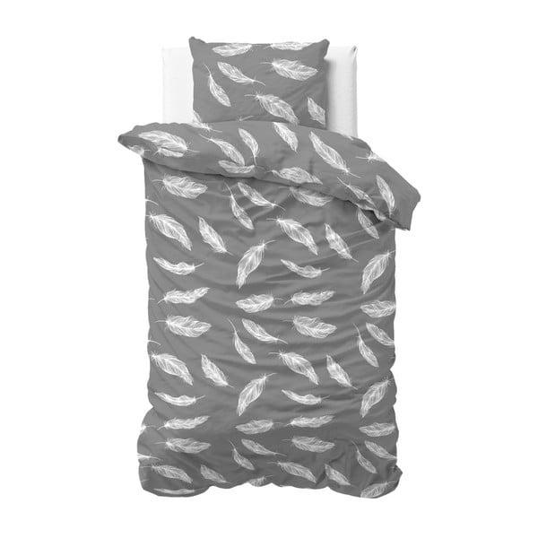 Jednoosobowa pościel flanelowa Zensation Feather Touch, 140x200 cm