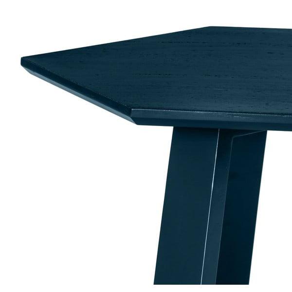 Konferenční stolek Hexagon Blue, 105x37x61 cm