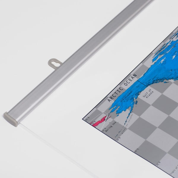 Magnetická mapa světa The Future Mapping Company Future Map, 101x58cm