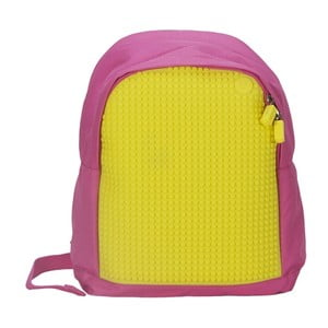 Dětský batoh Pixelbag pink/yellow