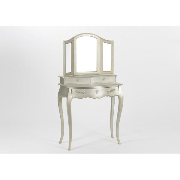Toaletní stolek Muran Silver