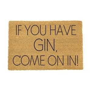 Rohožka Artsy Doormats If You Have Gin,40x60cm