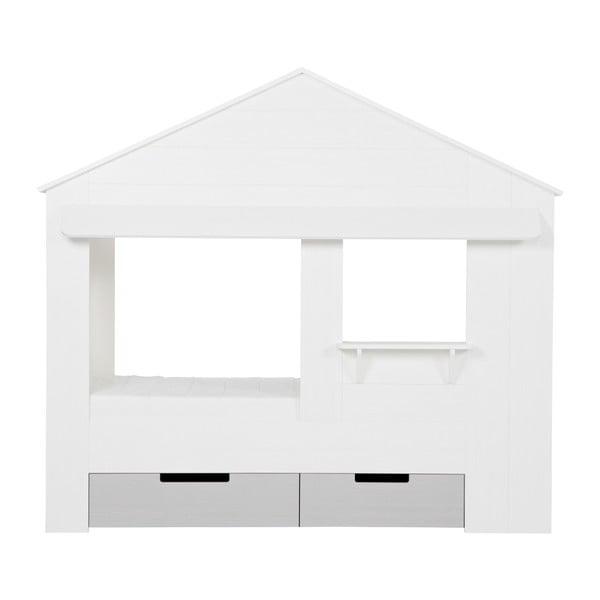 Bílé spodní zásuvky k posteli De Eekhoorn Huisie